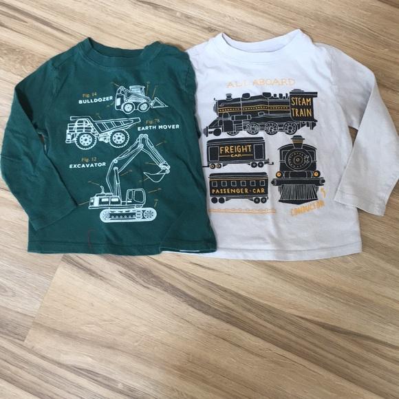 7f4ff9e4 Old Navy Shirts & Tops | Pair Of Tshirts Boys Size 3t | Poshmark